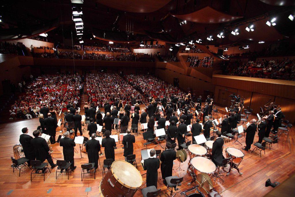 Santa Cecilia orchestra - by wiki